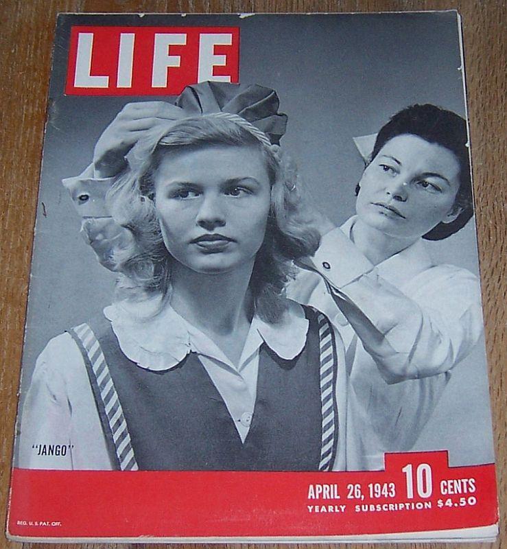 LIFE MAGAZINE APRIL 26, 1943, Life Magazine