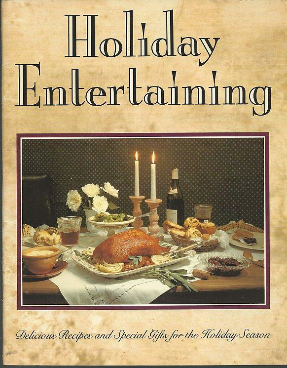 HOLIDAY ENTERTAINING Delicious Recipes and Special Gifts for the Holiday Season, Revco Drug Stores