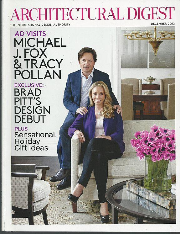 ARCHITECTURAL DIGEST MAGAZINE DECEMBER 2012, Architectural Digest