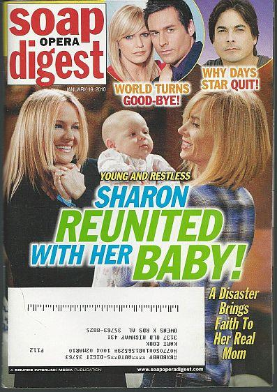 SOAP OPERA DIGEST - Soap Opera Digest January 19, 2010