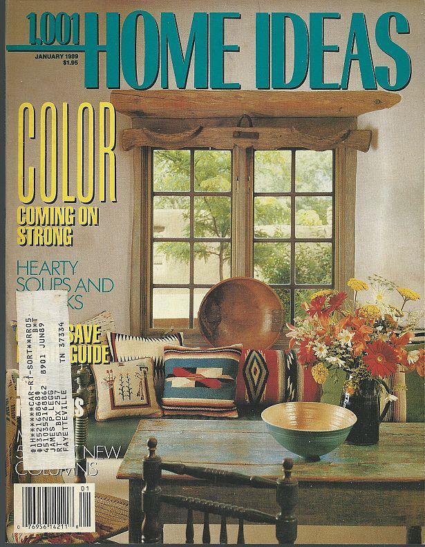 1001 HOME IDEAS MAGAZINE JANUARY 1989, Family Media