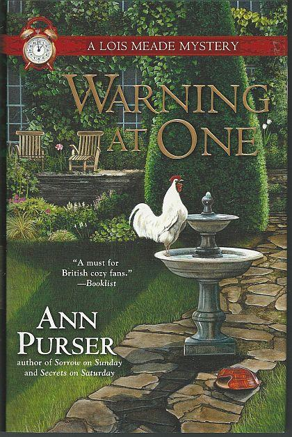 WARNING AT ONE, Purser, Ann