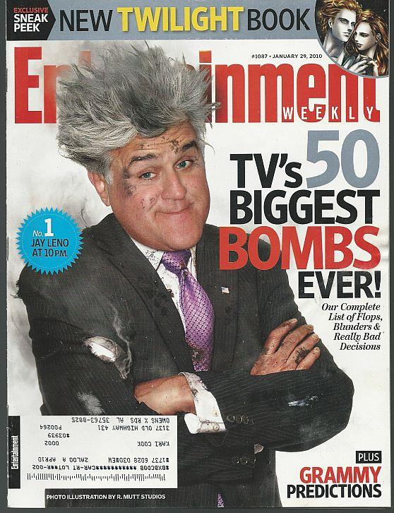 ENTERTAINMENT WEEKLY MAGAZINE JANUARY 29, 2010, Entertainment Weekly