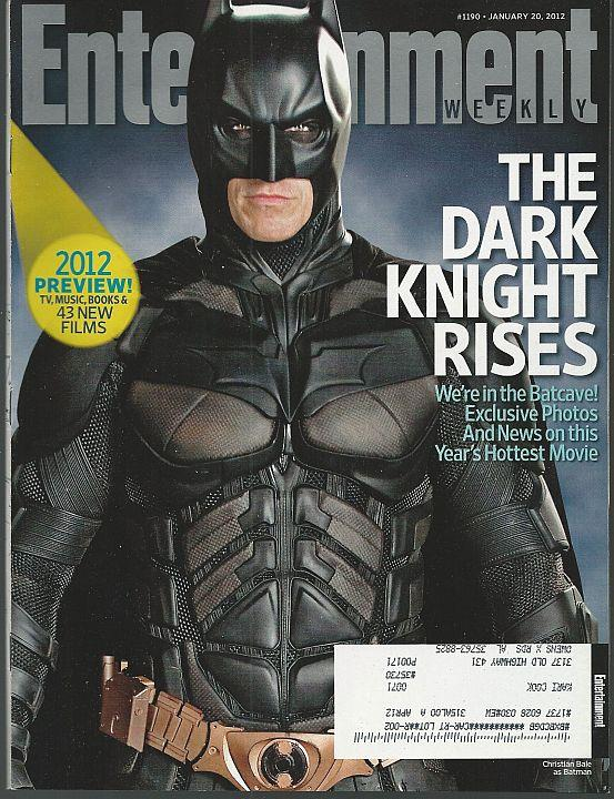 ENTERTAINMENT WEEKLY MAGAZINE JANUARY 20, 2012, Entertainment Weekly