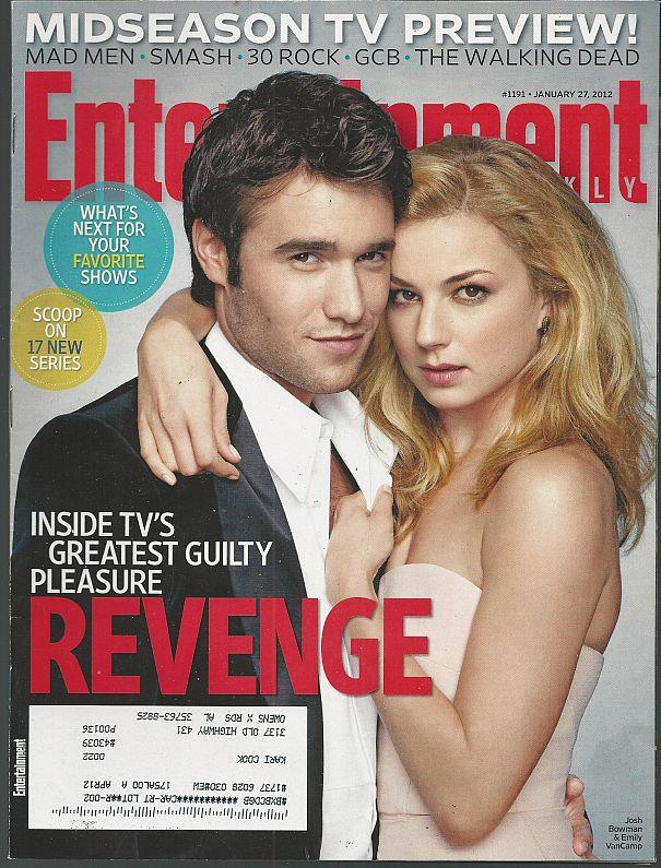 ENTERTAINMENT WEEKLY MAGAZINE JANUARY 27, 2012, Entertainment Weekly