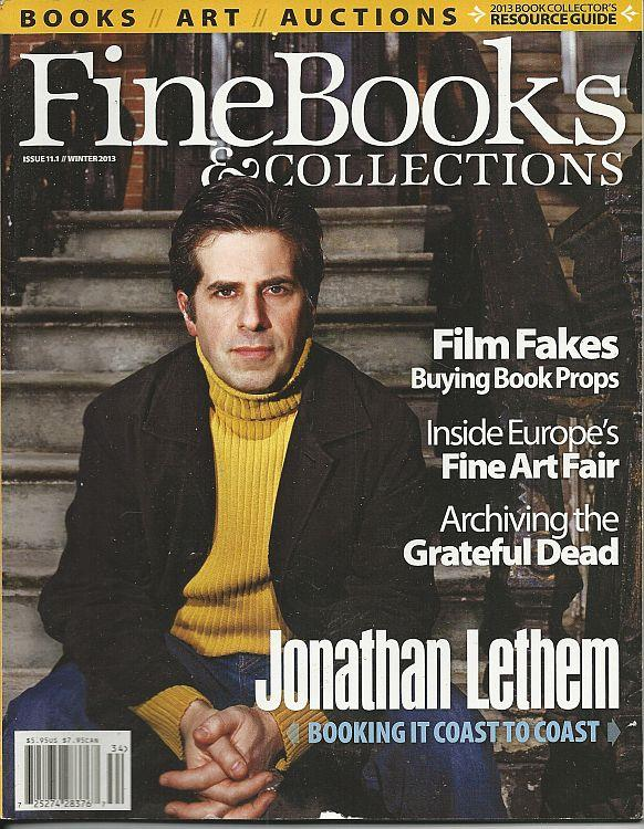 Image for FINE BOOKS AND COLLECTIONS MAGAZINE WINTER 2013
