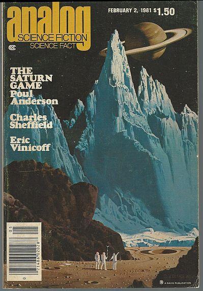 ANALOG, SCIENCE FICTION, SCIENCE FACT MAGAZINE FEBRUARY 2, 1981, Analog