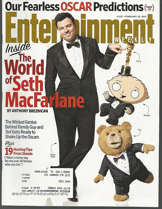 ENTERTAINMENT WEEKLY MAGAZINE FEBRUARY 22, 2013, Entertainment Weekly