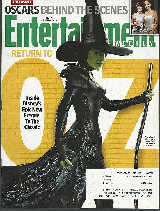 ENTERTAINMENT WEEKLY MAGAZINE MARCH 8, 2013, Entertainment Weekly