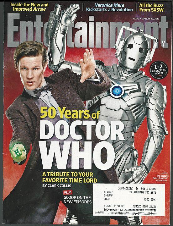 ENTERTAINMENT WEEKLY MAGAZINE MARCH 29, 2013, Entertainment Weekly