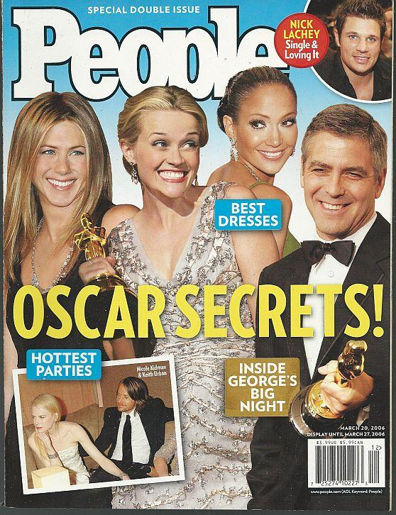 PEOPLE MAGAZINE MARCH 20, 2006, People Magazine
