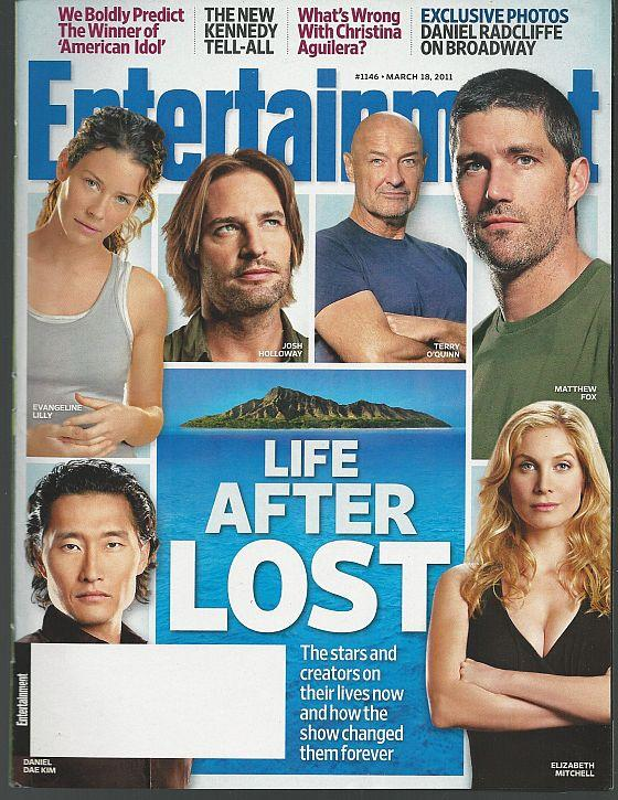 ENTERTAINMENT WEEKLY MAGAZINE MARCH 18, 2011, Entertainment Weekly