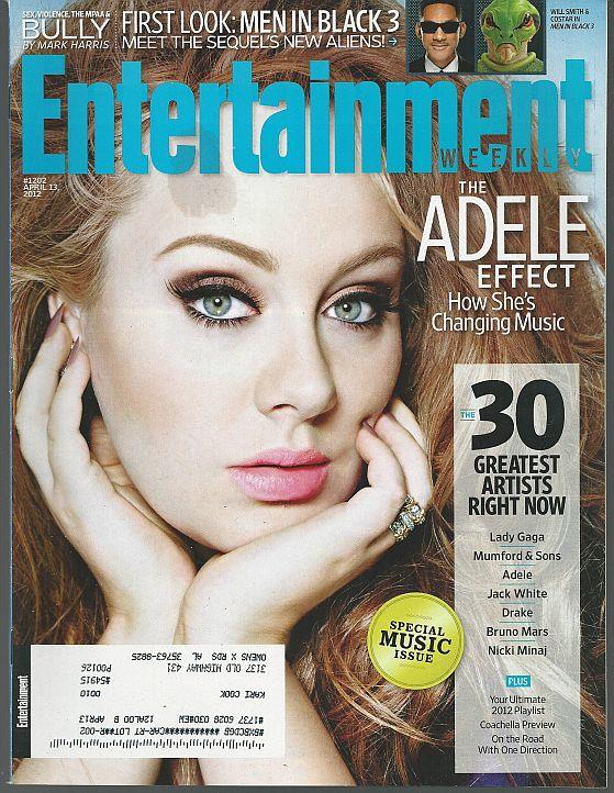 ENTERTAINMENT WEEKLY MAGAZINE APRIL 13, 2012, Entertainment Weekly