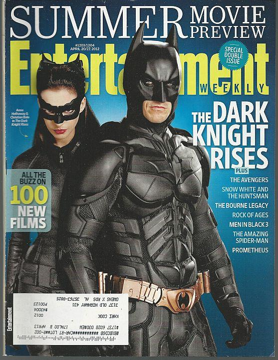 ENTERTAINMENT WEEKLY MAGAZINE APRIL 20/27, 2012 Special Double Issue Summer Movie Preview, Entertainment Weekly