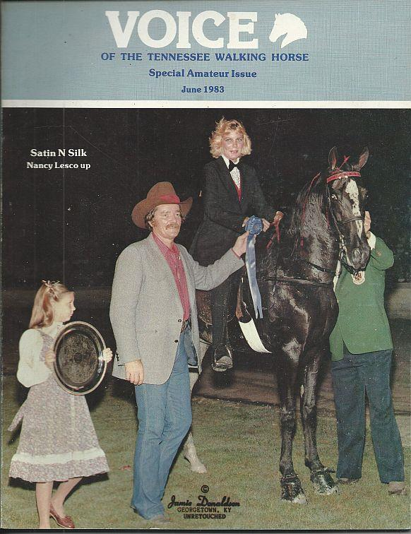 Image for VOICE OF THE TENNESSEE WALKING HORSE MAGAZINE JUNE 1983 Special Amateur Issue