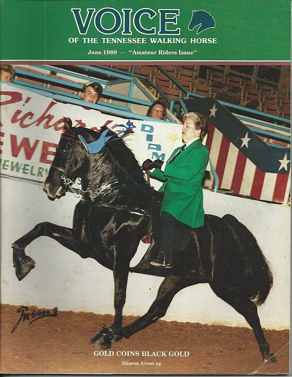 Image for VOICE OF THE TENNESSEE WALKING HORSE MAGAZINE JUNE 1989 Special Amateur Issue