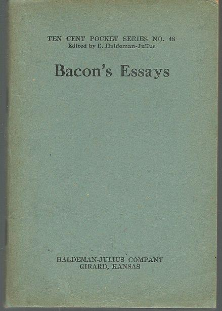 BACON'S ESSAYS, Bacon, Francis