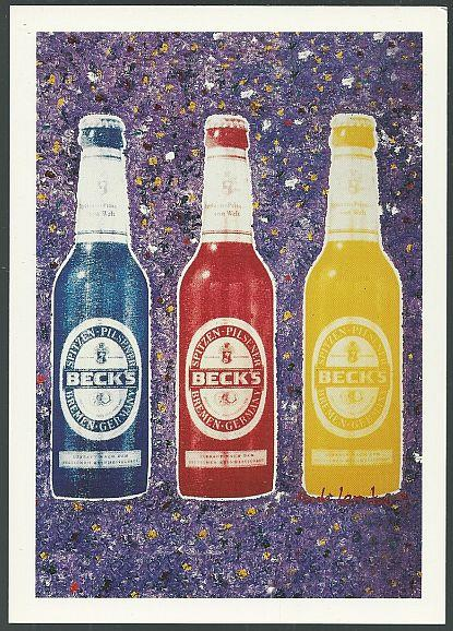 Image for ANDREAS LEMBERG BECK'S BEER POSTCARD