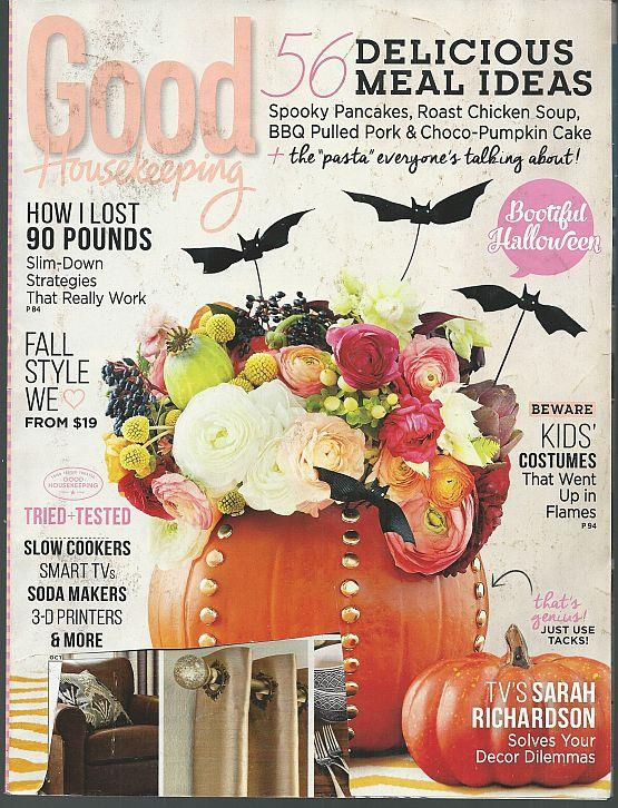 GOOD HOUSEKEEPING MAGAZINE OCTOBER 2014, Good Housekeeping