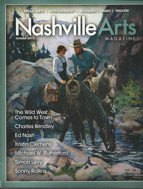 Image for NASHVILLE ARTS MAGAZINE OCTOBER 2011