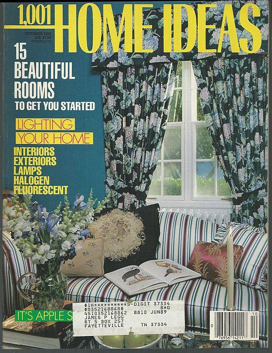 1001 HOME IDEAS MAGAZINE OCTOBER 1988, Family Media