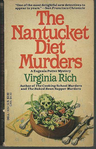 NANTUCKET DIET MURDERS A Eugenia Potter Mystery, Rich, Virginia
