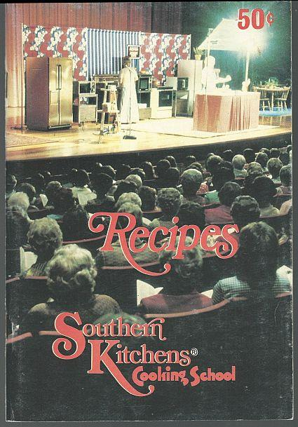 Image for RECIPES FROM SOUTHERN KITCHENS COOKING SCHOOL