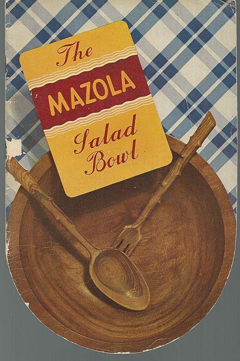 MAZOLA SALAD BOWL, Mazola