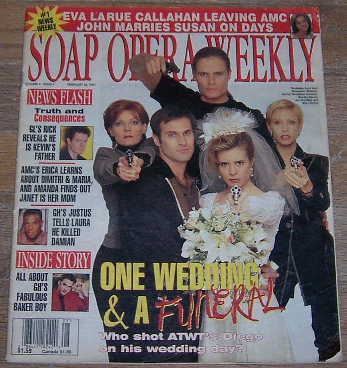 SOAP OPERA WEEKLY MAGAZINE FEBRUARY 25, 1997, Soap Opera Digest