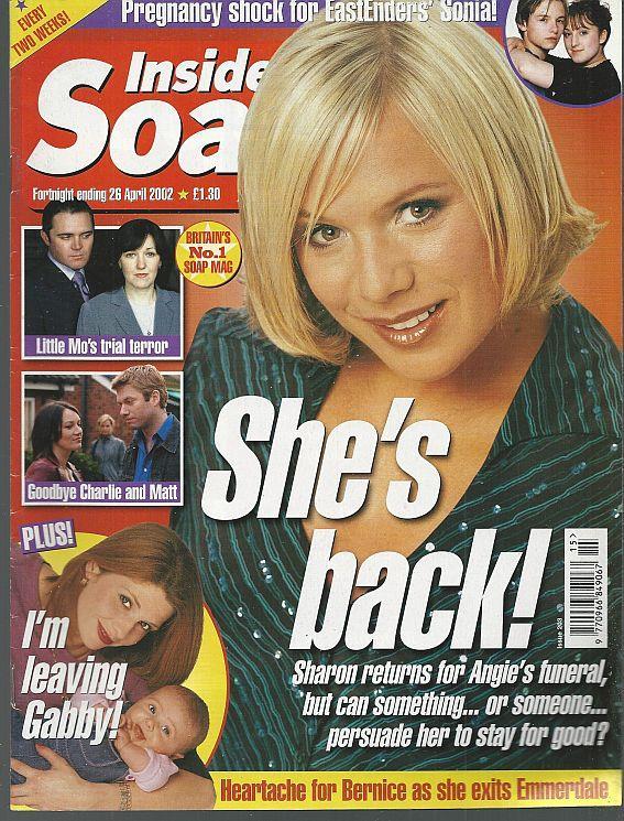 INSIDE SOAP - Inside Soap Magazine April 26, 2002