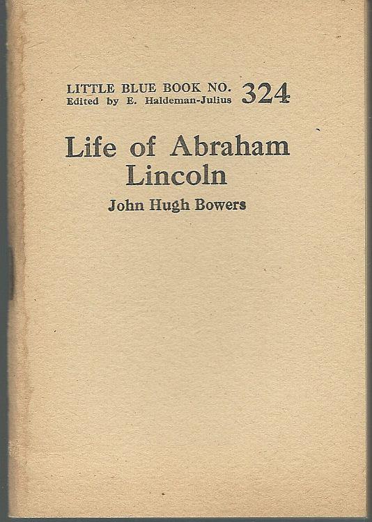 Image for LIFE OF ABRAHAM LINCOLN