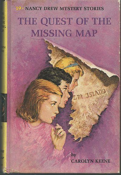 QUEST OF THE MISSING MAP, Keene, Carolyn