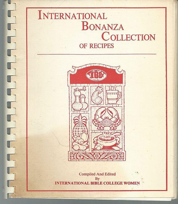 Image for INTERNATIONAL BONANZA COLLECTION OF RECIPES