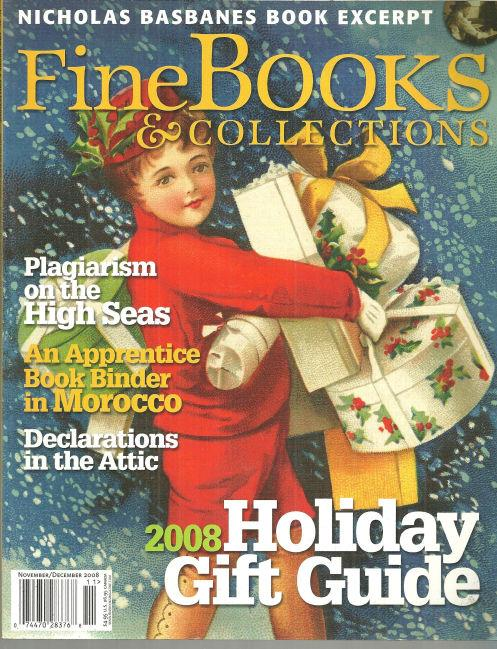 Image for FINE BOOKS AND COLLECTIONS MAGAZINE NOVEMBER/DECEMBER 2008