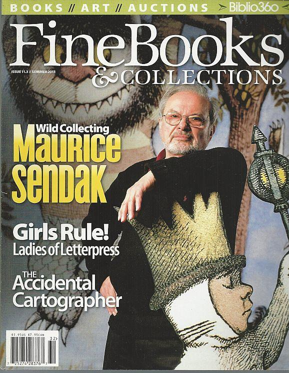 Image for FINE BOOKS AND COLLECTIONS MAGAZINE SUMMER 2013