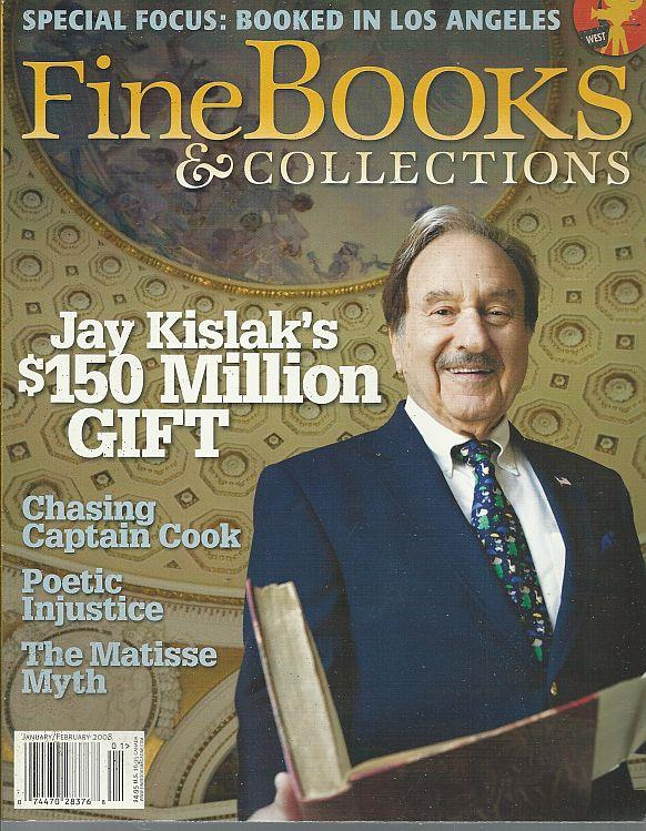 Image for FINE BOOKS AND COLLECTIONS JANUARY/FEBRUARY 2008