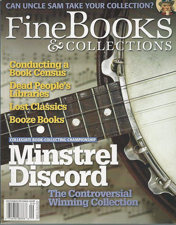 Image for FINE BOOKS AND COLLECTIONS MAGAZINE SEPTEMBER/OCTOBER 2008