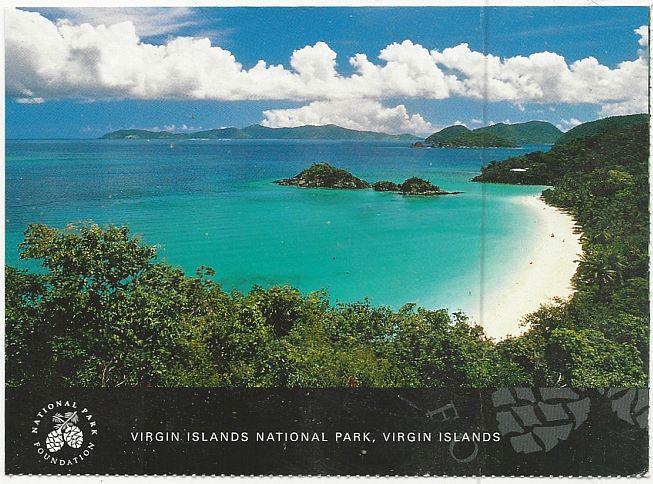 Image for POSTCARD OF VIRGIN ISLANDS NATIONAL PARK, VIRGIN ISLANDS