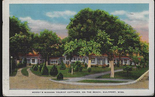 Image for MOODY'S MODERN TOURIST COTTAGES, GULFPORT, MISSISSIPPI