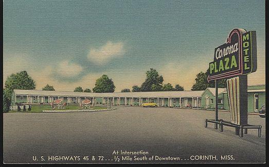 Image for CORONA PLAZA MOTEL, CORINTH, MISSISSIPPI