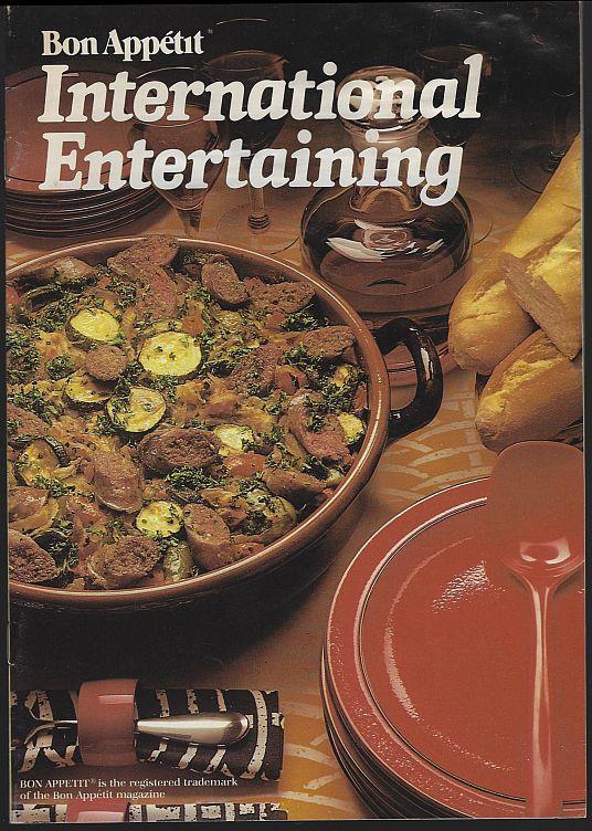 BON APPETIT INTERNATIONAL ENTERTAINING, Bon Appetit
