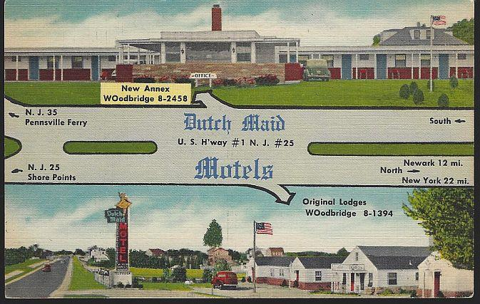 Image for DUTCH MAID MOTELS, WOODBRIDGE, NEW JERSEY