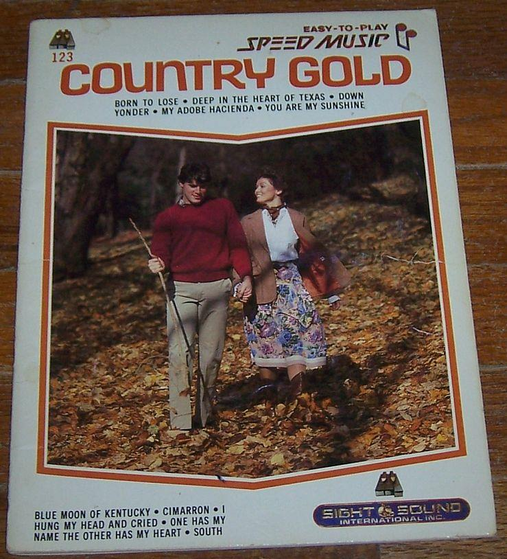 COUNTRY GOLD Easy to Play Speed Music, Sheet Music