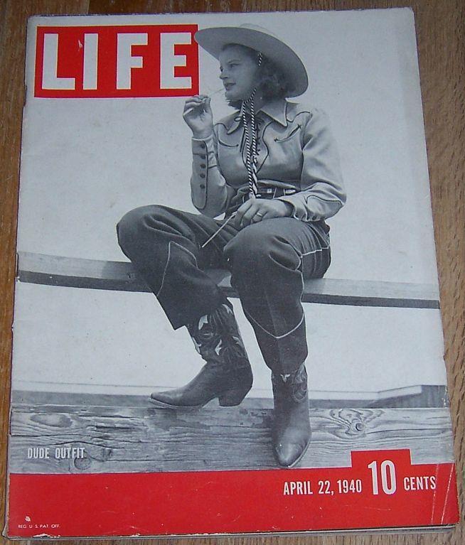 LIFE MAGAZINE APRIL 22, 1940, Life Magazine