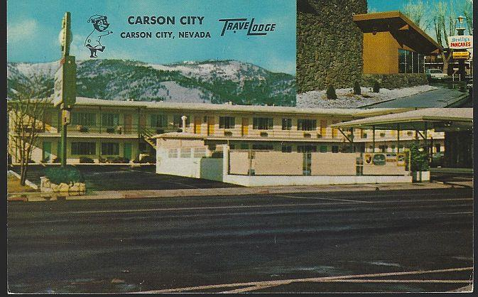 CARSON CITY TRAVELODGE, CARSON CITY, NEVADA, Postcard