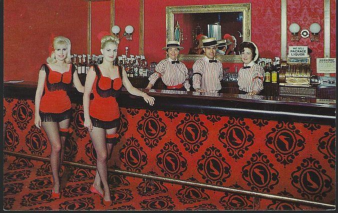 RED SLIPPER COCKTAIL LOUNGE, HOLIDAY INN, SPRINGFIELD, MISSOURI, Postcard