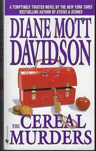 CEREAL MURDERS, Davidson, Diane Mott
