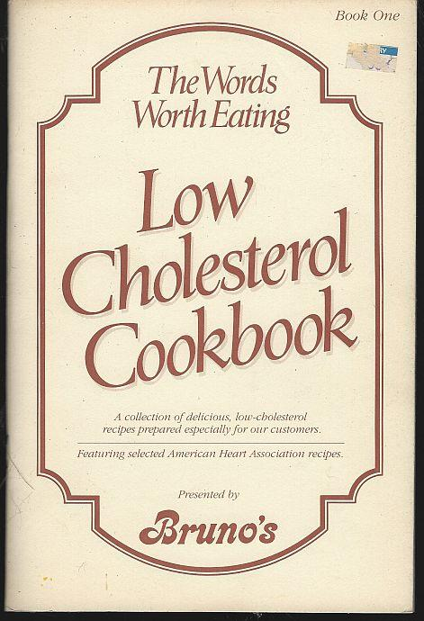 WORDS WORTH EATING BOOK ONE Low Cholesterol Cookbook, Legg, Jacquelyn