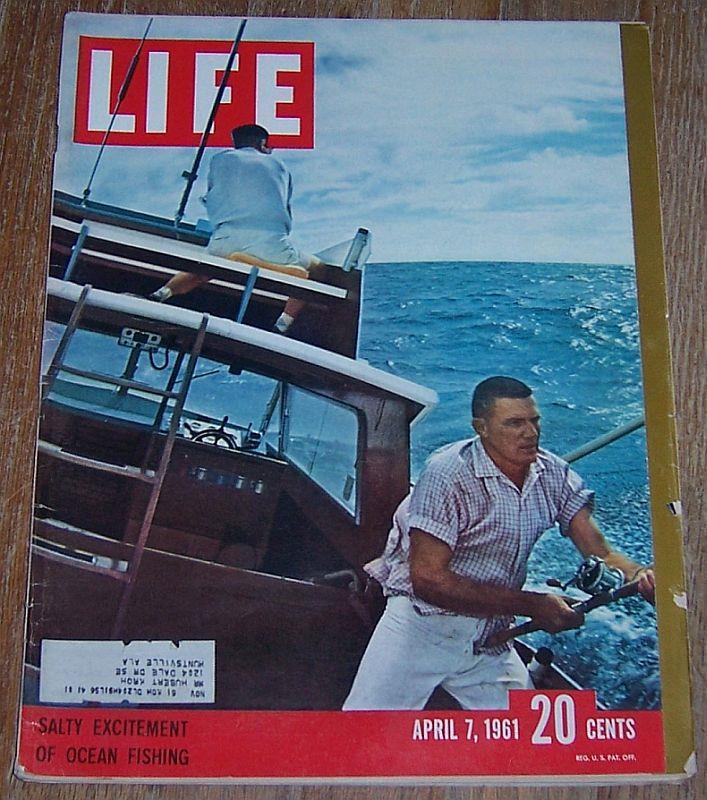 LIFE MAGAZINE APRIL 7, 1961, Life Magazine