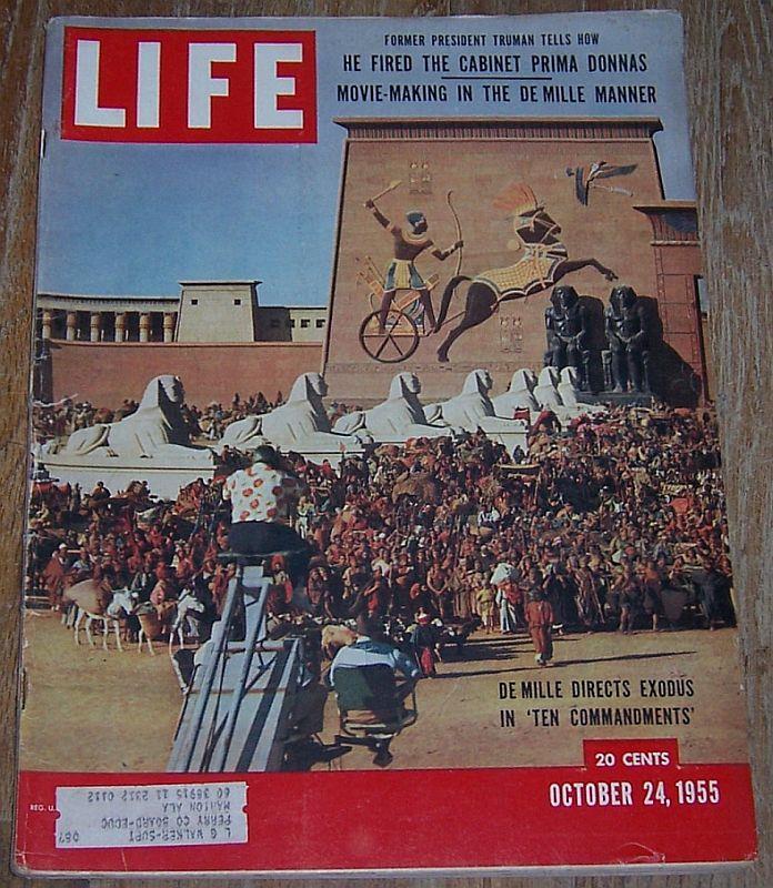 LIFE MAGAZINE OCTOBER 24, 1955, Life Magazine